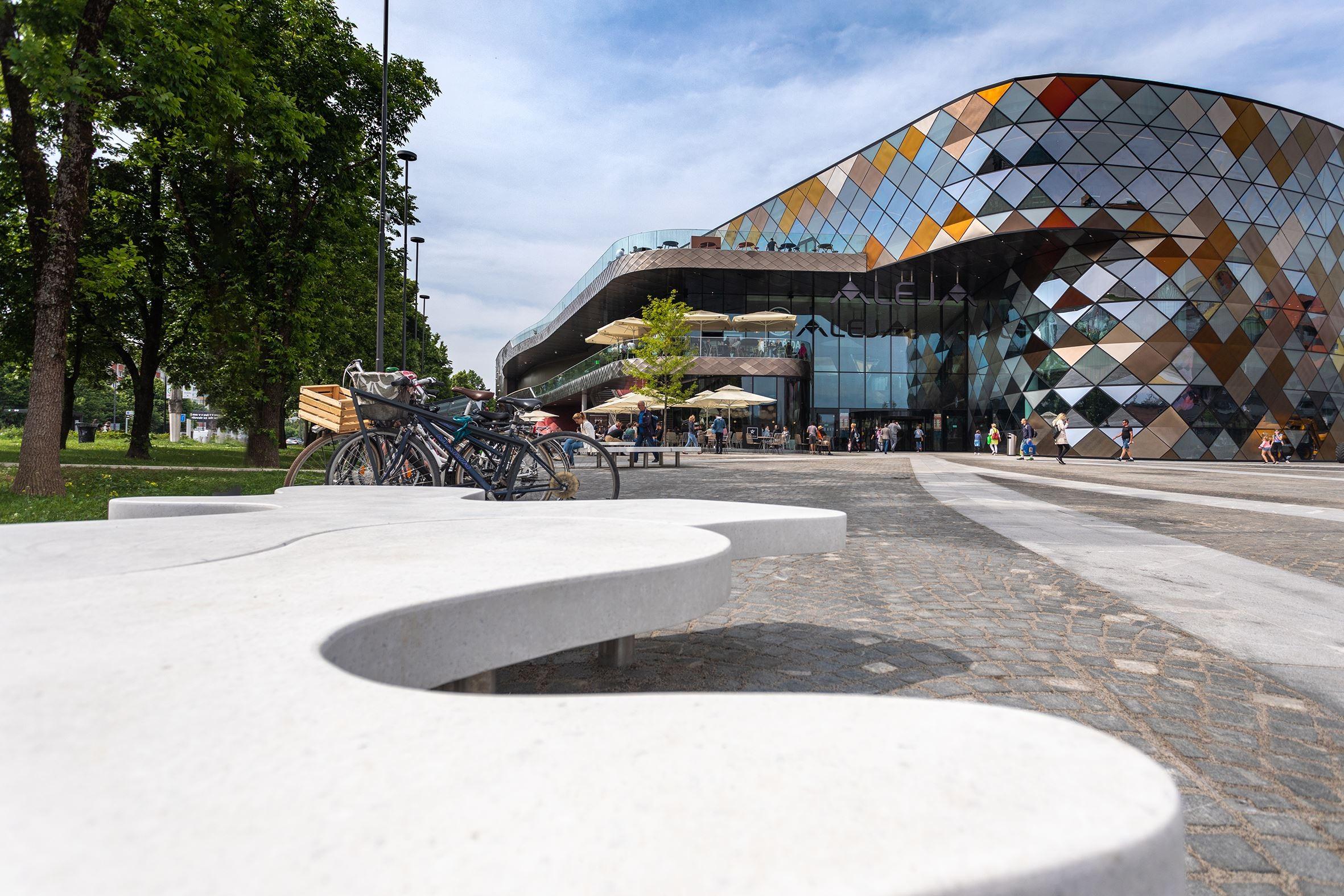 Schon im März fertig wurde das von ATP geplante ALEJA-Center in Ljubljana nun eröffnet<br><span class='image_copyright'>Jost Gantar/VELIKA</span><br>