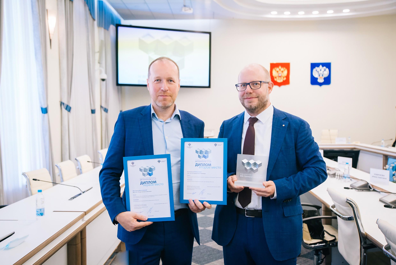 Die Geschäftsführer Vladimir Horton und Kai-Uwe Reitmann freuen sich über die Auszeichnung.<br><span class='image_copyright'>ATP</span><br>