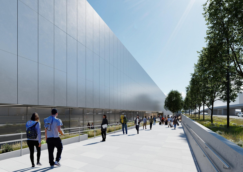 In Rekordzeit geplant: Terminal 2 am Flughafen BER.<br><span class='image_copyright'>ATP</span><br>