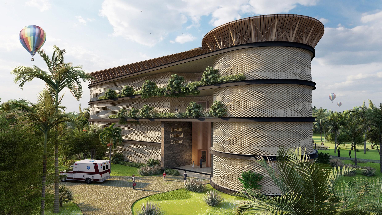 So sieht die Bettenstation des Jordan Medical Centers in Ghana aus.<br><span class='image_copyright'>HTL-Imst</span><br>