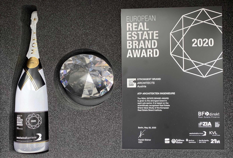 ATP gewinnt erneut den Real Estate Brand Award.<br><span class='image_copyright'>ATP</span><br>