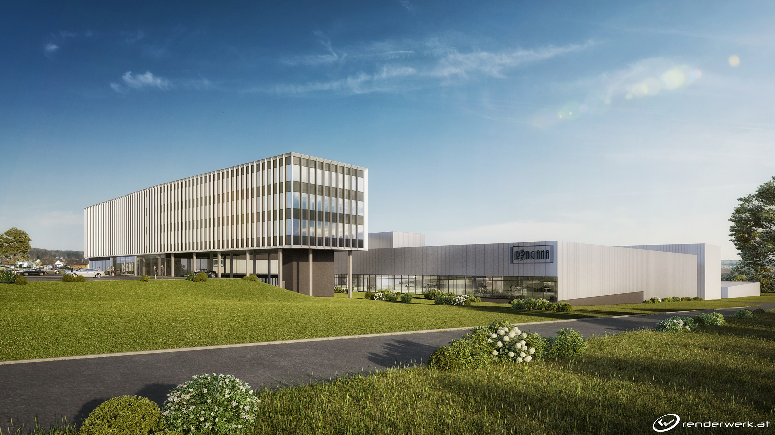 Integrally designed with BIM by ATP: RINGANA's new facility<br><span class='image_copyright'>ATP</span><br>