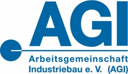 Logo Arbeitsgemeinschaft Industriebau e.V. (AGI)<br><span class='image_copyright'>AGI</span><br>