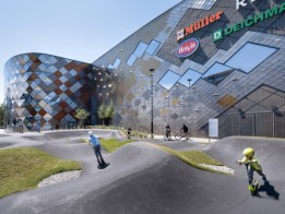 Stadtteil- und Shoppingzentrum ALEJA in Ljubljana, von ATP integral mit BIM geplant.<br><span class='image_copyright'>ATP/Pierer</span><br>
