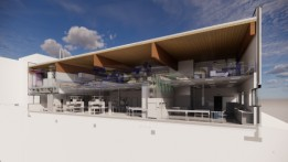 New building for the Regiomed Clinic, Ansbach.<br><span class='image_copyright'>ATP</span><br>