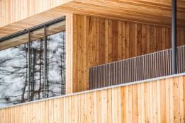 Unbehandelte Fassade aus Lärchenholzbrettern.<br><span class='image_copyright'>ATP/Philipp</span><br>
