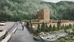 2. Baustufe: Gewerbepark mit Hotel.<br><span class='image_copyright'>ATP</span><br>