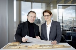 Solveig Hillebrecht and Ulf Bambach, the dual leadership of the Frankfurt office.<br><span class='image_copyright'>ATP/Rauschmeir</span><br>
