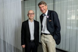 ATP was able to recruit David Bosshart, CEO of the Gottlieb Duttweiler Institute and one of the most sought-after futurologists, as guest speaker.<br><span class='image_copyright'>ATP/Mint/Soland</span><br>