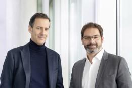 Führungs-Duo bei ATP Frankfurt: Christopher Hammerschmidt (l.) und Harald Stieber (r.)<br>