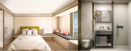 Durch die Ausrichtung des Turms auf mehrere verschiedene Blickachsen erhalten alle Zimmer einen tollen Ausblick.<br><span class='image_copyright'>Visualisierung: ATP/ZoomVP</span><br>
