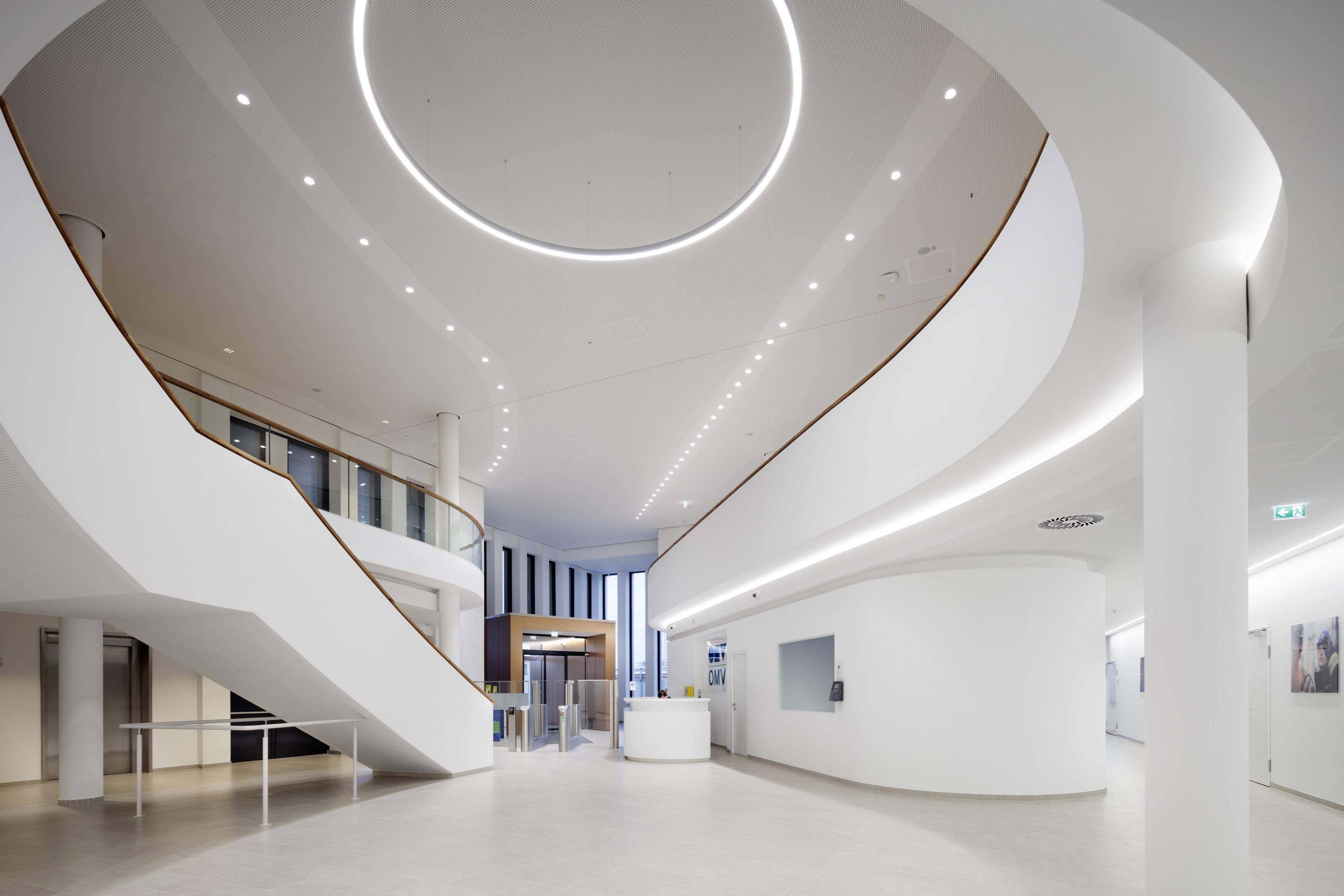 Innenraum, Entrée.<br>Integrale Planung von ATP architekten ingenieure (Wien)<br><span class='image_copyright'>ATP/Kuball</span><br>