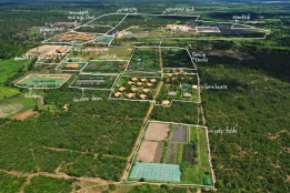 Auf dem ca. 120 ha großen landwirtschaftlichen Areal leben derzeit ca. 300 Familien.<br><span class='image_copyright'>Smiling Gecko</span><br>
