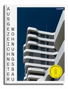 """Jahrbuch """"Ausgezeichneter Wohnungsbau"""" vom Callwey Verlag: der IN-Tower schmückt das Cover<br><span class='image_copyright'>Callwey Verlag</span><br>"""