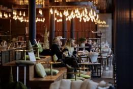 Le Chef, Flughafen Genf, CH<br>Erlebnisorientiertes Gastrokonzept und Restaurantumbau von Mint Architecture.<br><span class='image_copyright'>Mint Architecture/Autogrill Schweiz</span><br>